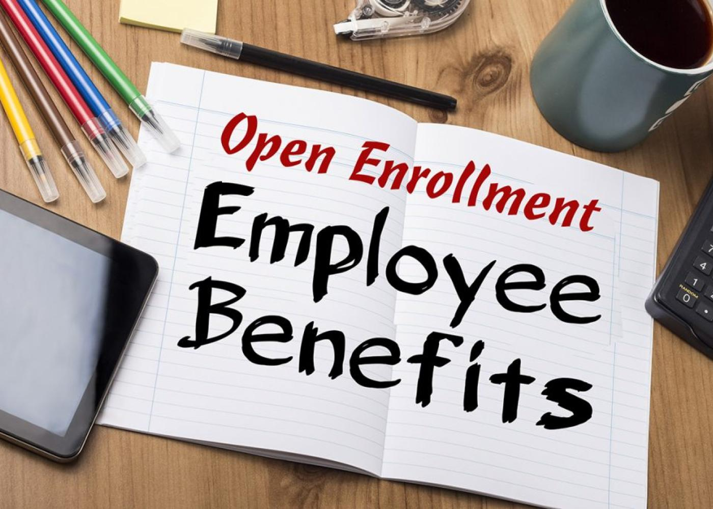 open enrollment employee benefits