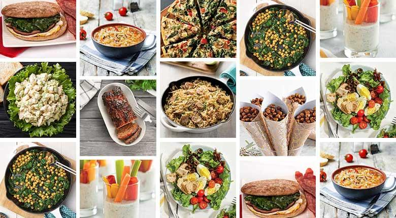 Collection of Diabetes Food Hub recipes