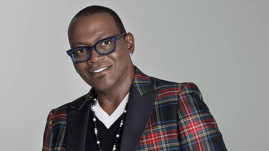 Randy Jackson close-up with dark glasses