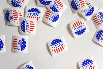 Image of I Voted stickers